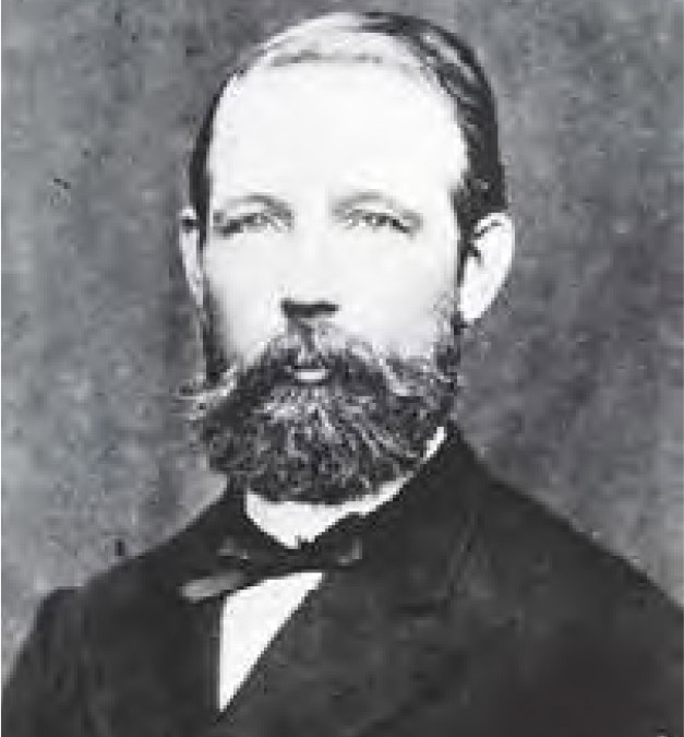 Der Geheime Kommerzienrath Wilhelm Peter Berding, Leiter der Mechanischen Weberei Linden, gehört zu den Gründungsvätern und ist der erste Vorsitzende des Fabrikanten-Vereins Hannover-Linden.